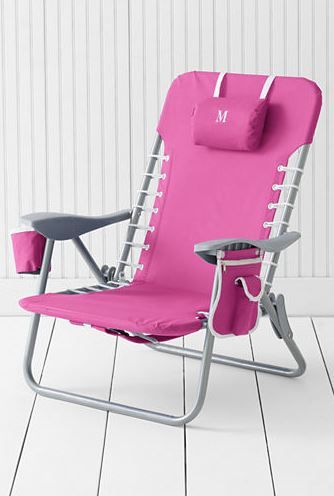 Pink Beach Chair From Lands End