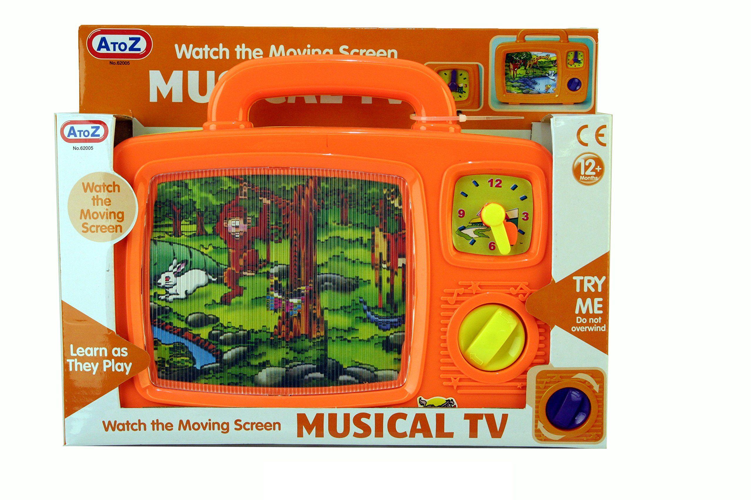 A bis Z 62005˜Musical TV Spielzeug Adventskalender Baby in