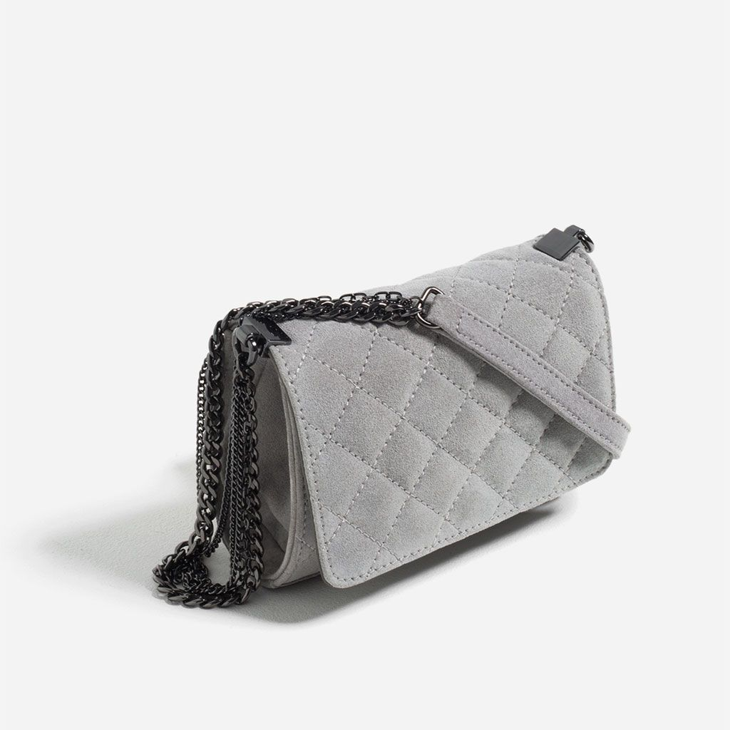 6552d421 QUILTED LEATHER CROSSBODY BAG from Zara   Architect's Fashion   Bags ...