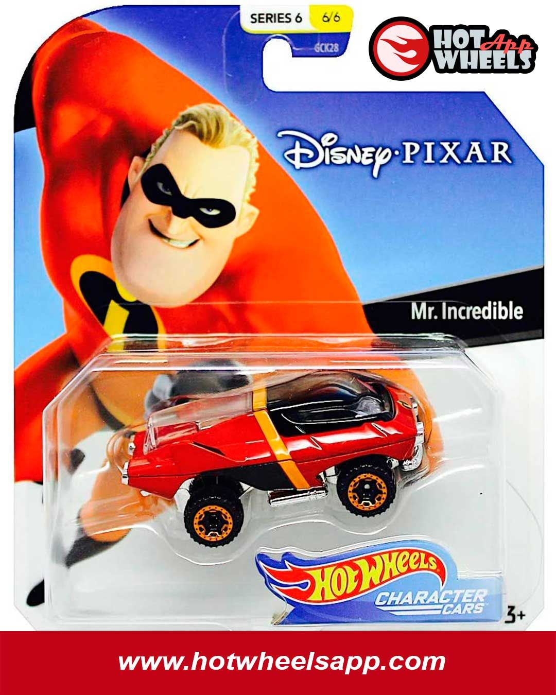 Mattel Hot Wheels Disney Character Cars Modell Stitch