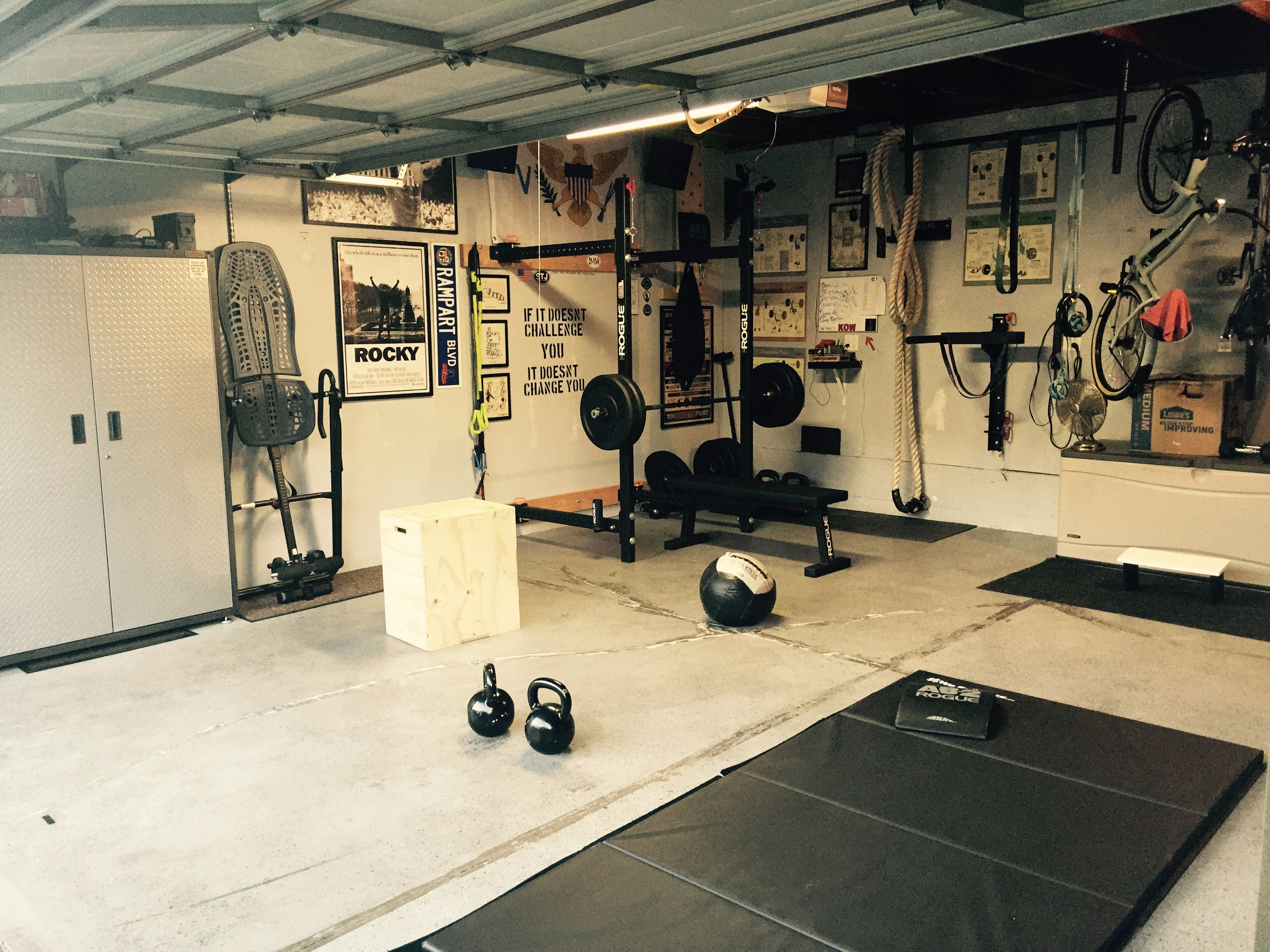 Garage Gym For Under 3000 00 Crossfit Rogue Fitness