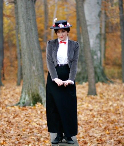 Create Your Own Mary Poppins Costume Mary poppins, Costumes and - work halloween ideas