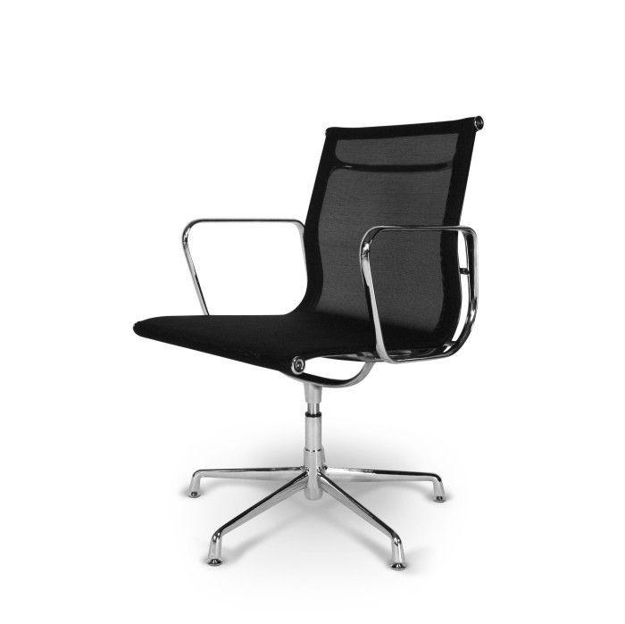 Eames EA 108 Mesh Schwarz   Bürostühle   POPfurniture   Eames bürostuhl, Eames stuhl, Eames