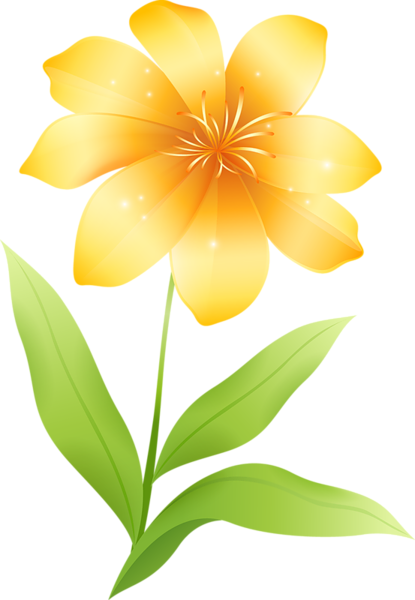 Yellow Flower Clipart Flowers Flower Clipart Flowers Yellow