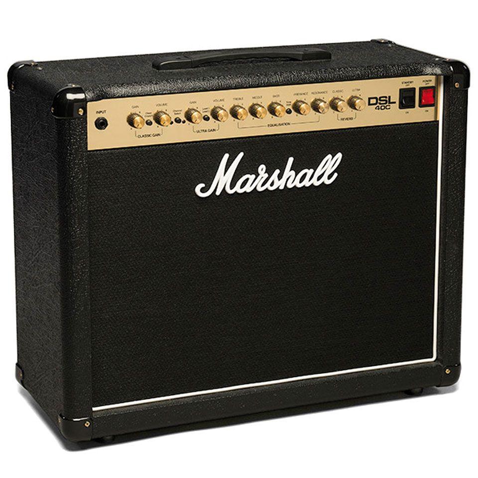 Marshall Dsl 40c Marshall Marshall Amps Marshall Amplification