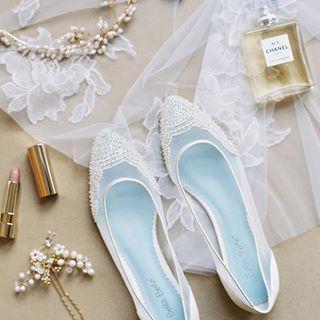 Handmade Bridal Sandals, Bridal Flats, Wedding Shoes – Bella Belle Shoes