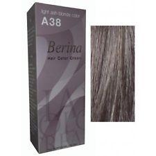 Berina a38 light ash blonde permanent hair dye cream #lightashblonde