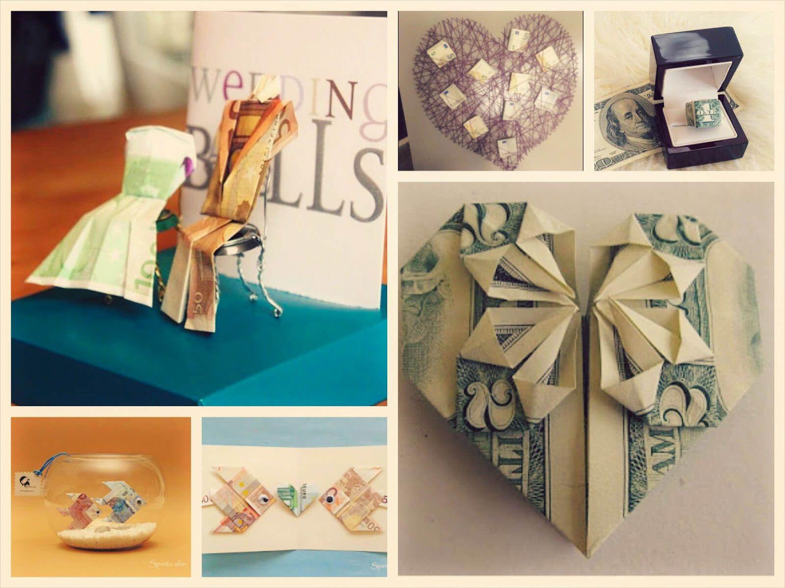 El Mejor Regalo Original De Boda Para Los Novios Dinero Gift Wrapping Gifts Wrap