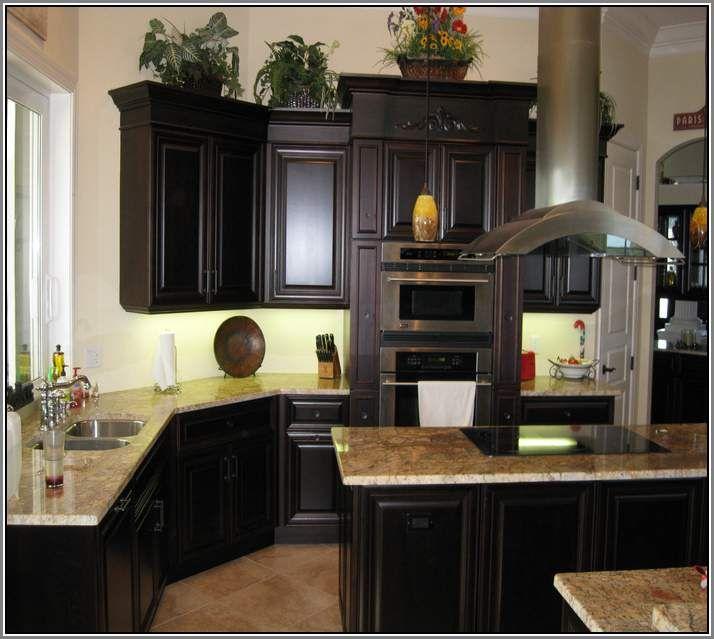 Refinishing Oak Kitchen Cabinets Dark Stain - Meltdownetc ...