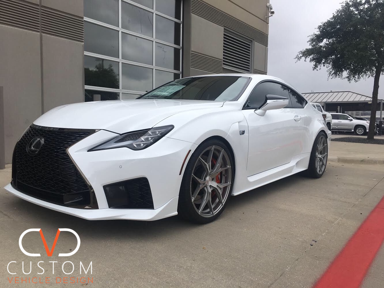 2020 Lexus RC F with Rohana RFX5 wheels 2020 Lexus RC