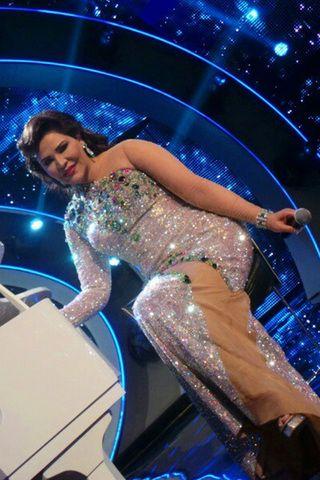 بالصور إطلالات أحلام العالمية فى أراب أيدول Strapless Dress Formal Arab Fashion Dresses