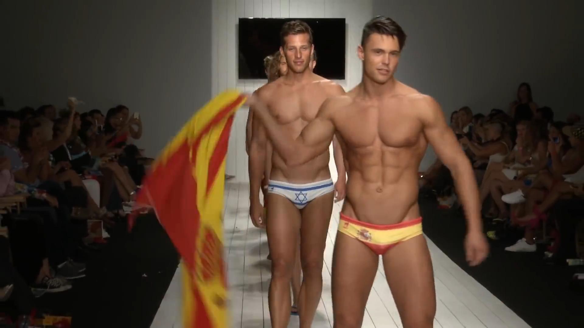 e0340f4604 Ca-RIO-Ca Brazilian Mens Swimwear - Runway Show - Miami Swim Week 2015