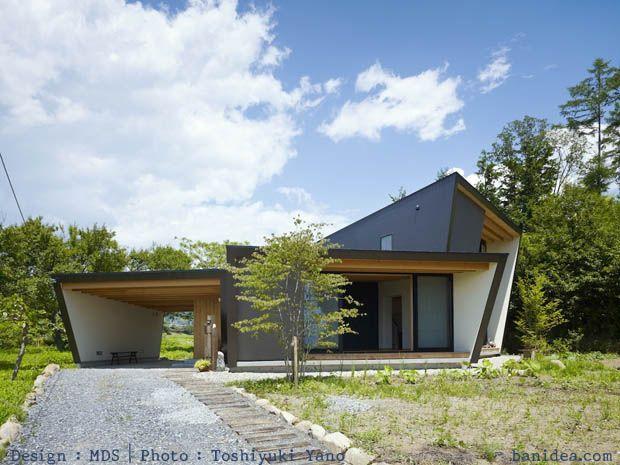 บ านแบบญ ป น 2 ช น ผน งโชก เสน ห ท ย นยาว บ านไอเด ย แบบบ าน ตกแต ง บ าน เว บไซต เพ อบ านค Modern Japanese Architecture Architecture Japanese Farmhouse
