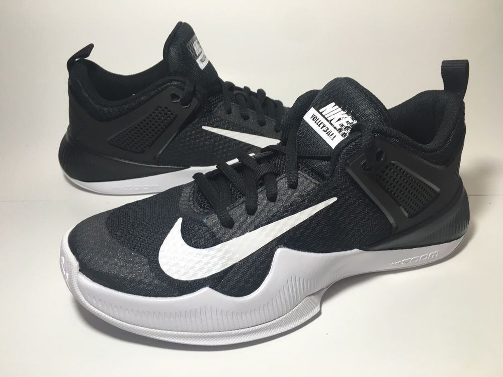 Nike Air Zoom HyperAce Womens Volleyball Shoe Black-White 902367-001 Size 7 f9378f6295