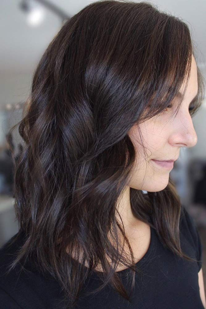 10 Suggestions For Dark Brown Hair Color Long Hair Dont Care