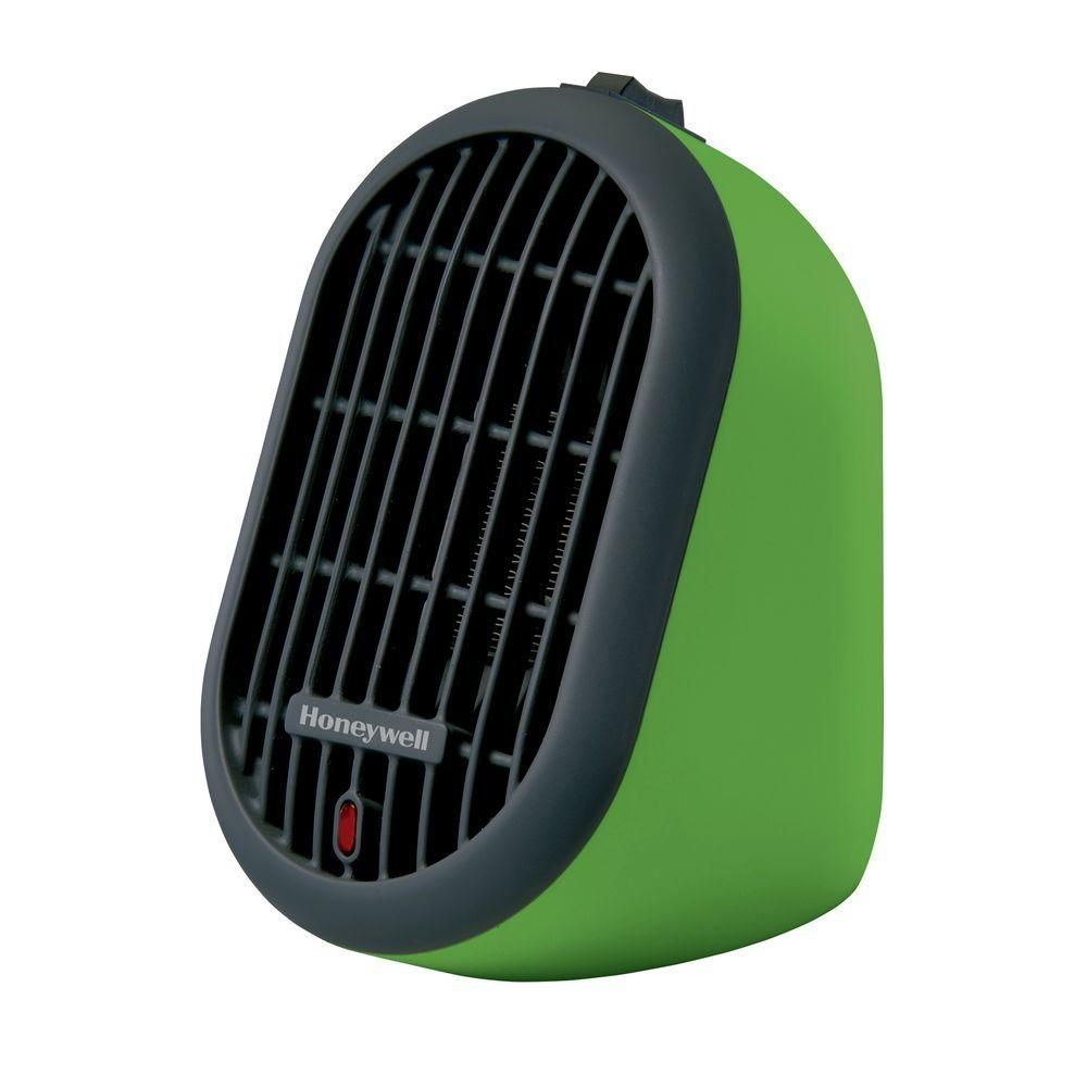 Honeywell watt heat bud personal ceramic portable heater green