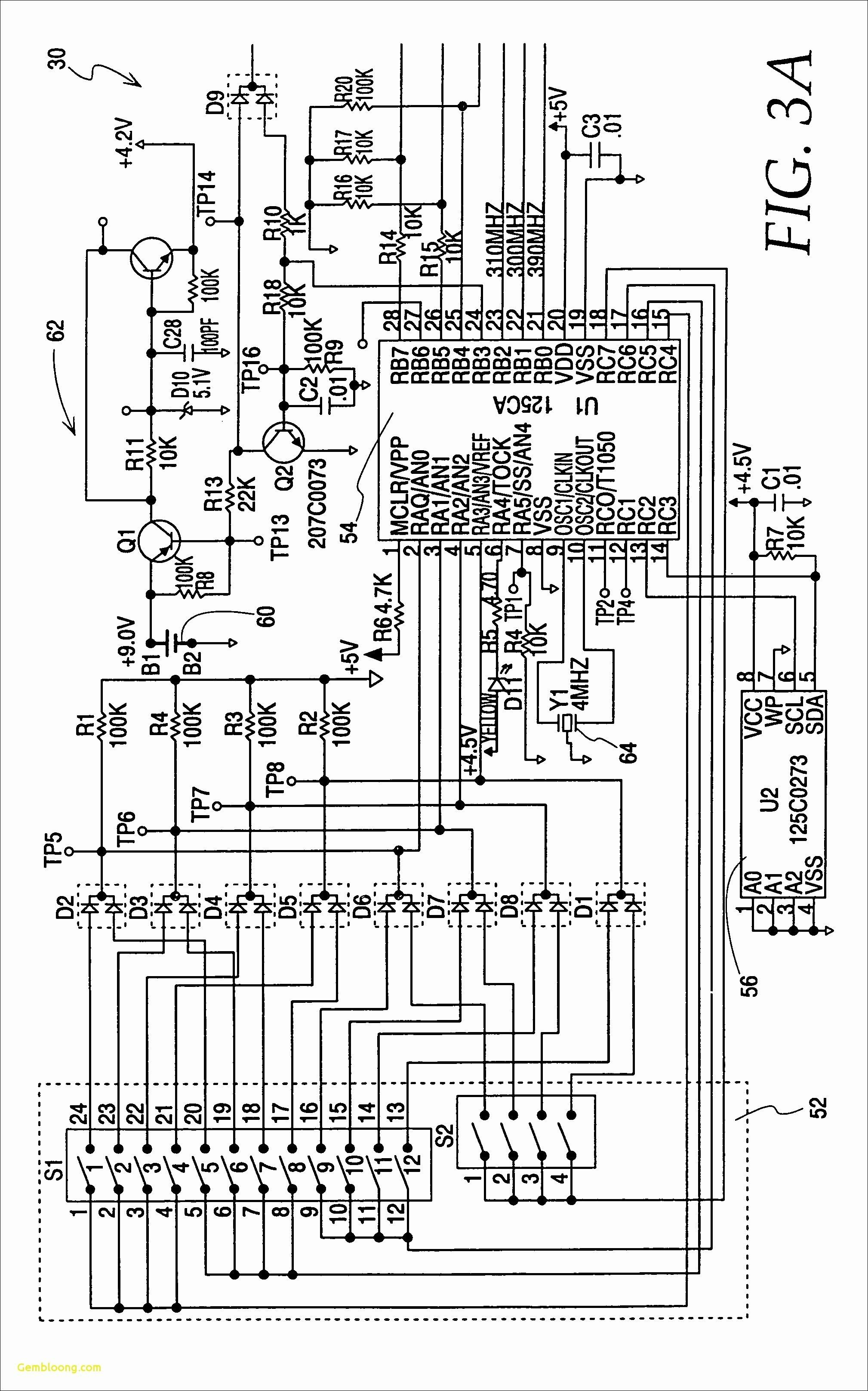 New Consumer Control Unit Wiring Diagram