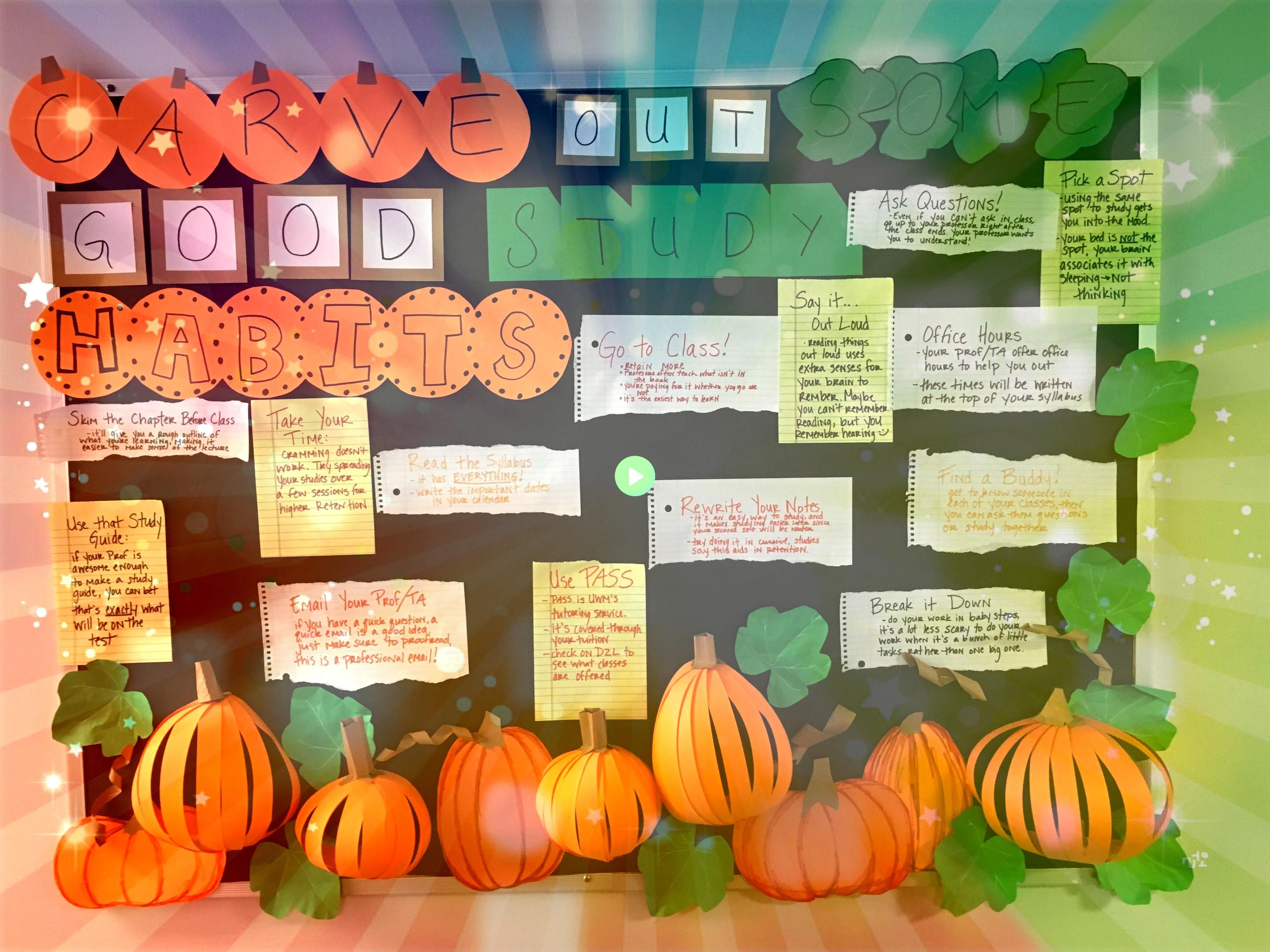 #octoberbulletinboards #bulletinboard #halloween #studytips #bulletin #pumpkins #october #reslife #board #pump #raOctober Bulletin Board October Bulletin Board October Bulletin Board October Bulletin BoardOctober Bulletin Board October Bulletin Board October Bulletin Board October Bulletin Board  Fall into healthy habits bulletin board, elementary school, nurses office, bilingual  Fall Study Habits board  Skeleton Bulletin board  Fall Into Healthy Habits  RA bulletin board Slippery Rock U... #oc #halloweenbulletinboards
