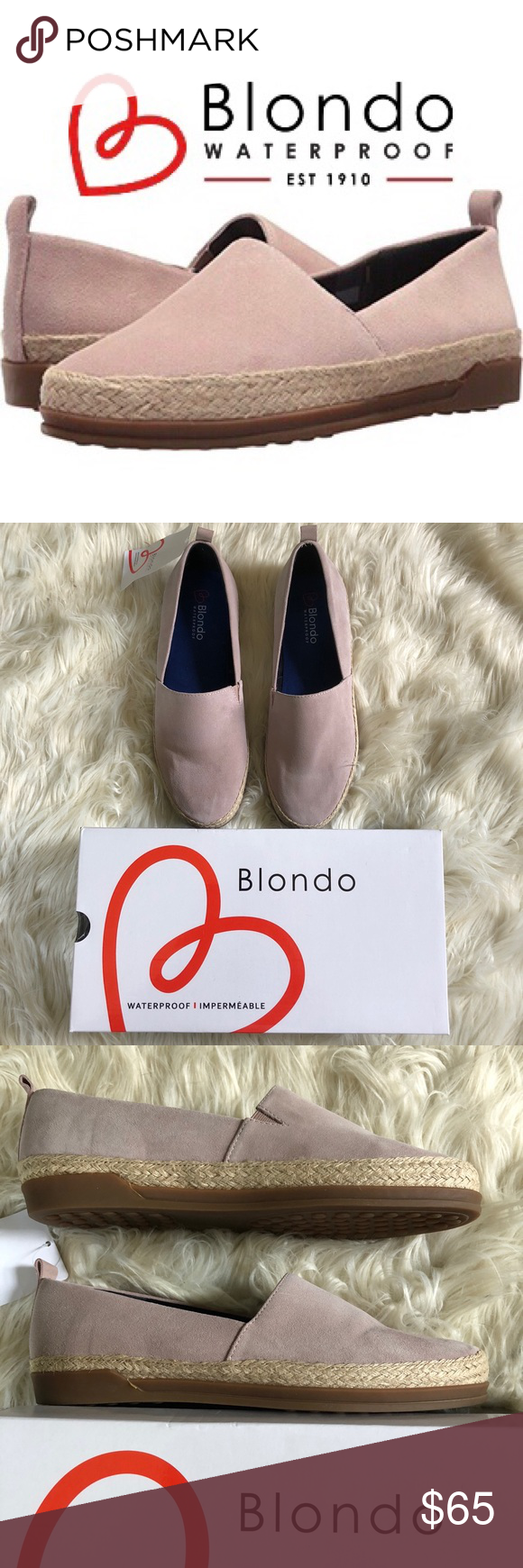 054e84f452a NEW 🌸BLONDO Bailey Flat Women s Waterproof Shoes NEW IN BOX 🌸BLONDO  Bailey Flat Women s Shoes from Nordstrom. Cushioned insole