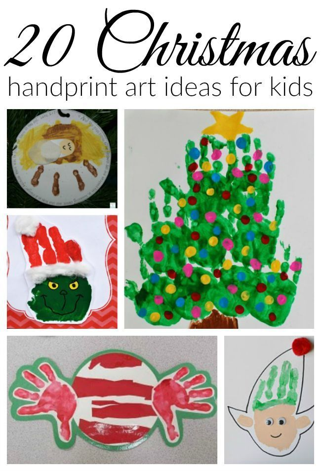 christmas handprint art. Black Bedroom Furniture Sets. Home Design Ideas