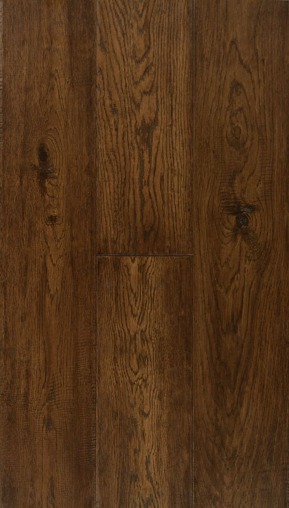 6 1 2 Inch Engineered Burnt Umber Oak Hardwood Flooring 38 79 Sq Ft Case Hardwood Floors