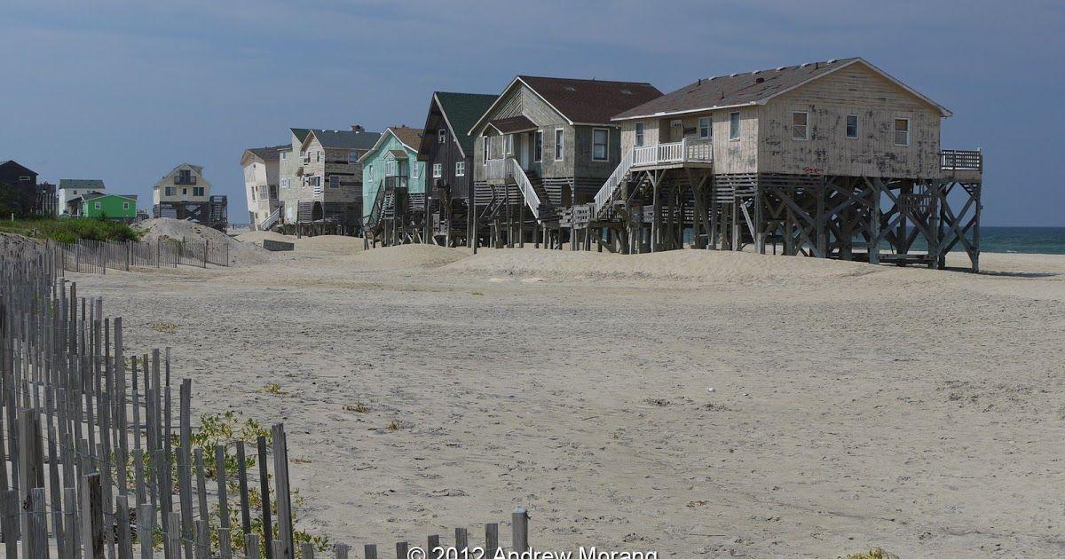 beach houses at South Nags Head, North Carolina