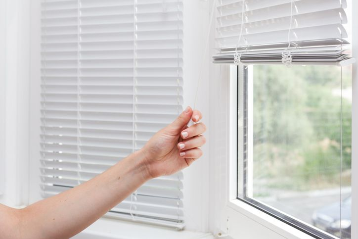 Image result for closed blinds block sun