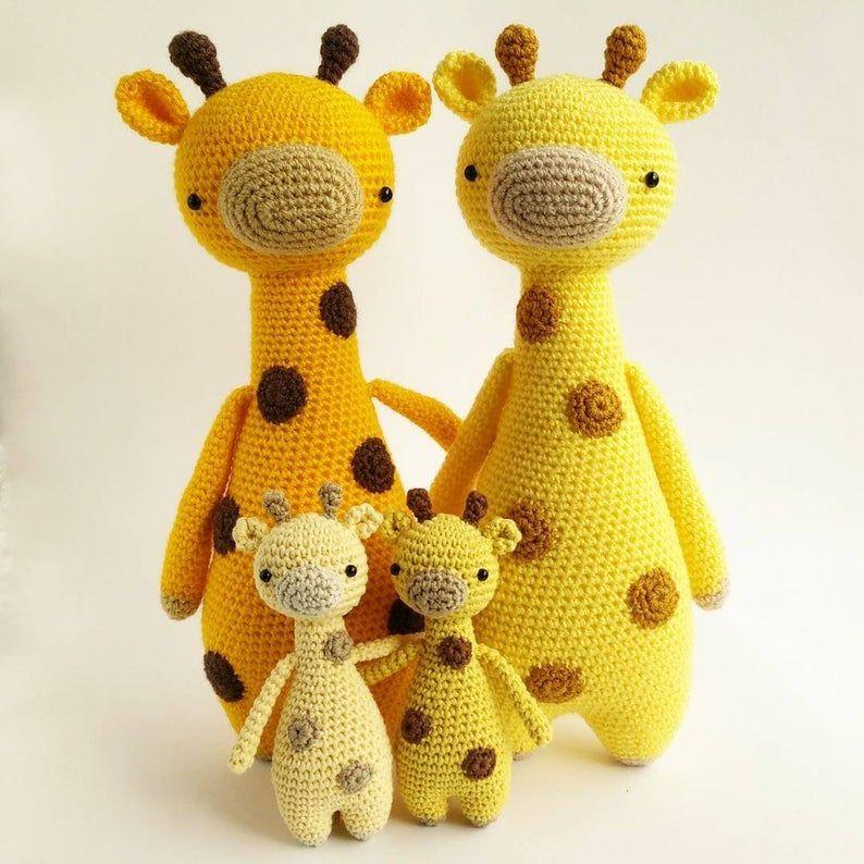 Girafa de crochê (Amigurumi) no Elo7 | EMPORIUM AMIGURUMI (B600F6) | 794x794