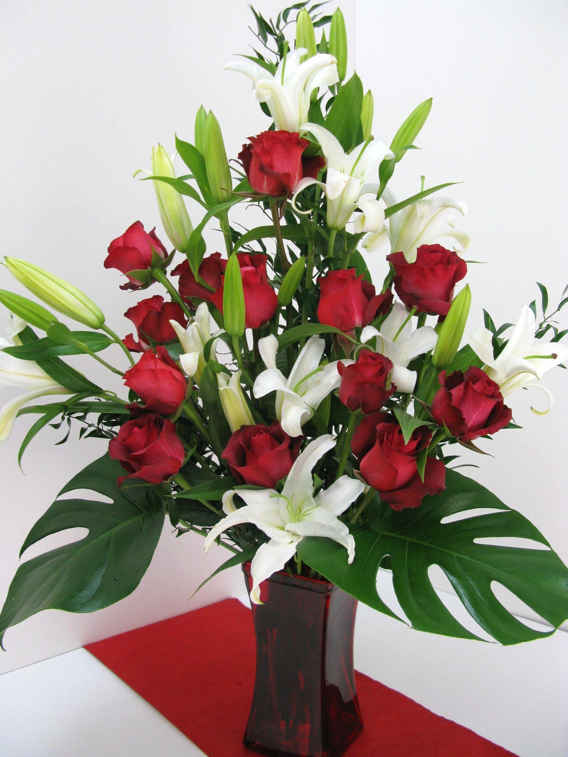 In Love With You in Miami, FL Yosvi White flower