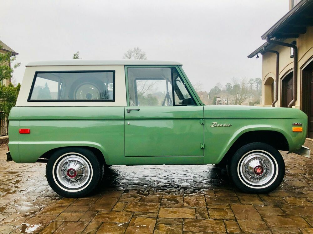 1970 Ford Bronco Ford Bronco Bronco Classic Cars