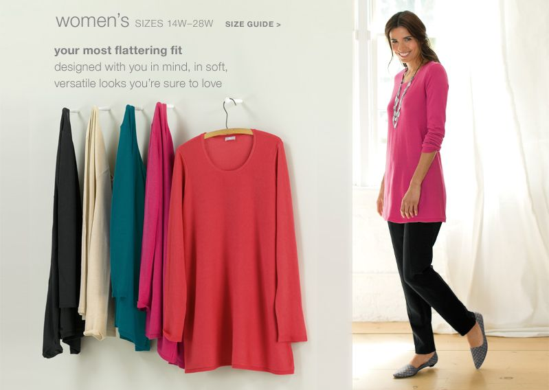 Women's Plus Size Clothing in sizes 14W-28W at J. Jill | Outfits ...