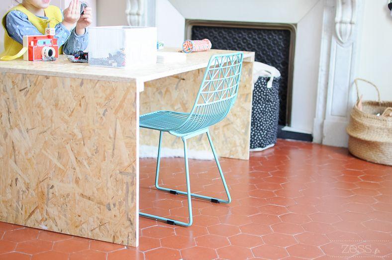 DIY : le bureau home made de Lily Rose   Bureau ikea enfant