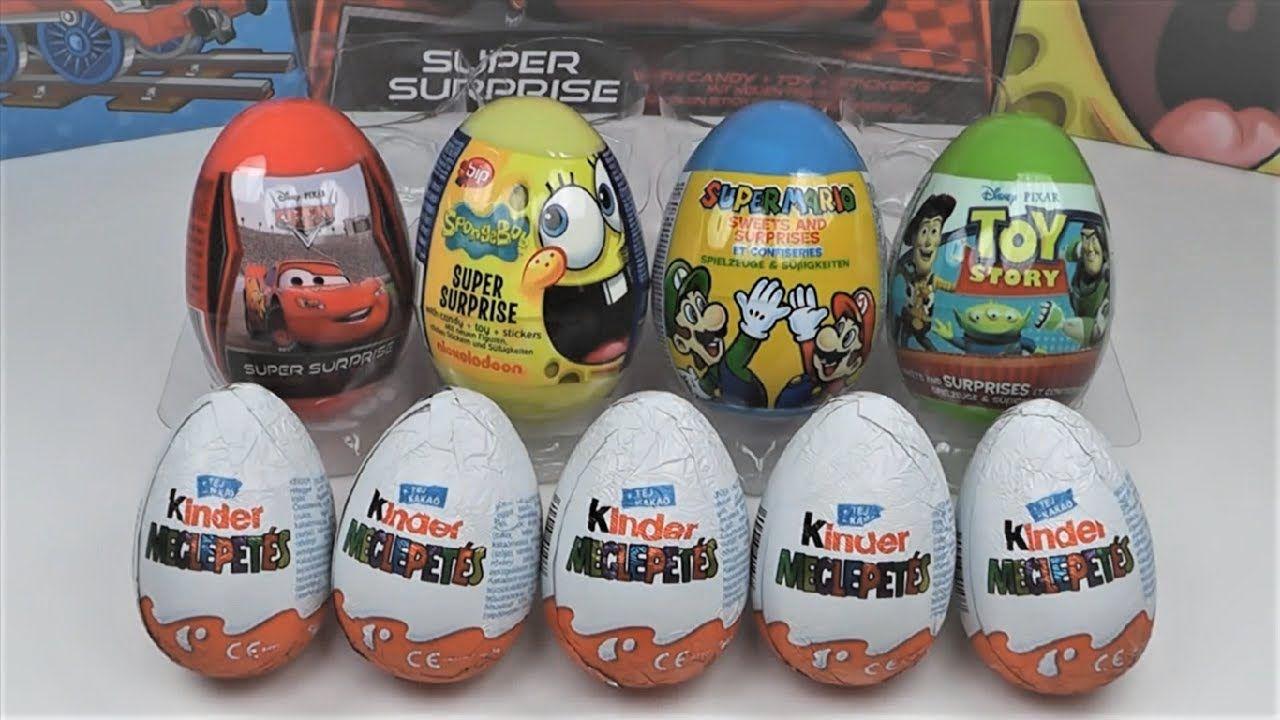 فتح 5 بيضات كندر جوي سبرايز و 4 بيضة المفاجآت سبونج بوب وسوبر ماريو Honest Tea Bottle Tea Bottle Toys