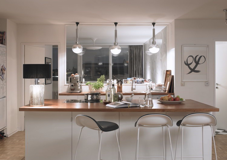 Dalani bar angolo living lounge con sgabelli luci bancone lampada