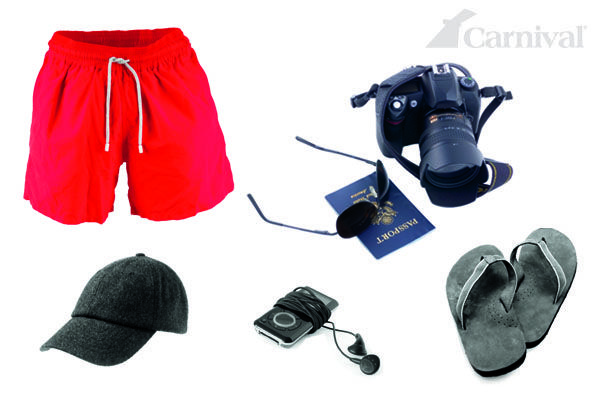 Paparazzi? No, it's just Dad. #Cruise #Apparel #Clothing #Shorts