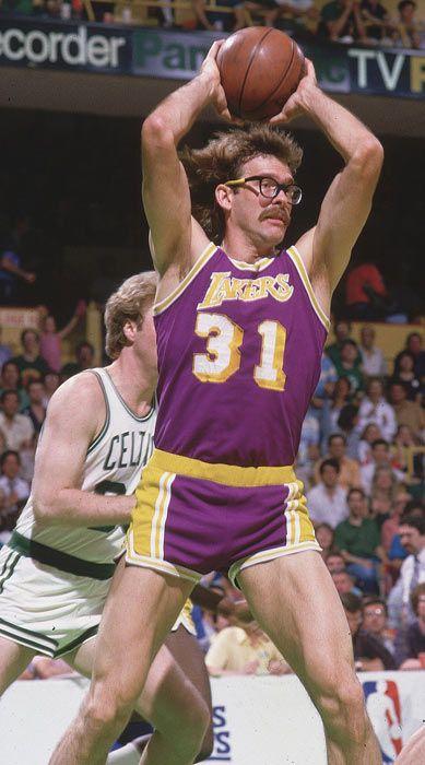 Kurt Rambis - 1985 - Celtics vs. Lakers | peanut butter and jelly. | Pinterest | NBA, Los ...