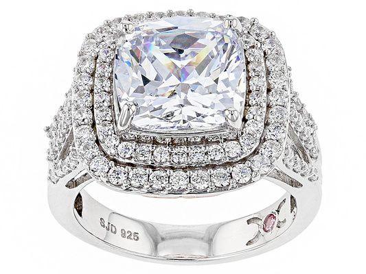 Michael O' Connor For Bella Luce(R) Diamond Simulant Rhodium Over Ster
