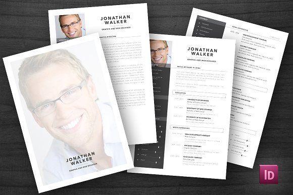nice Download Modern Resume \/ CV CreativeWork247 - Fonts, Graphics - fonts for a resume