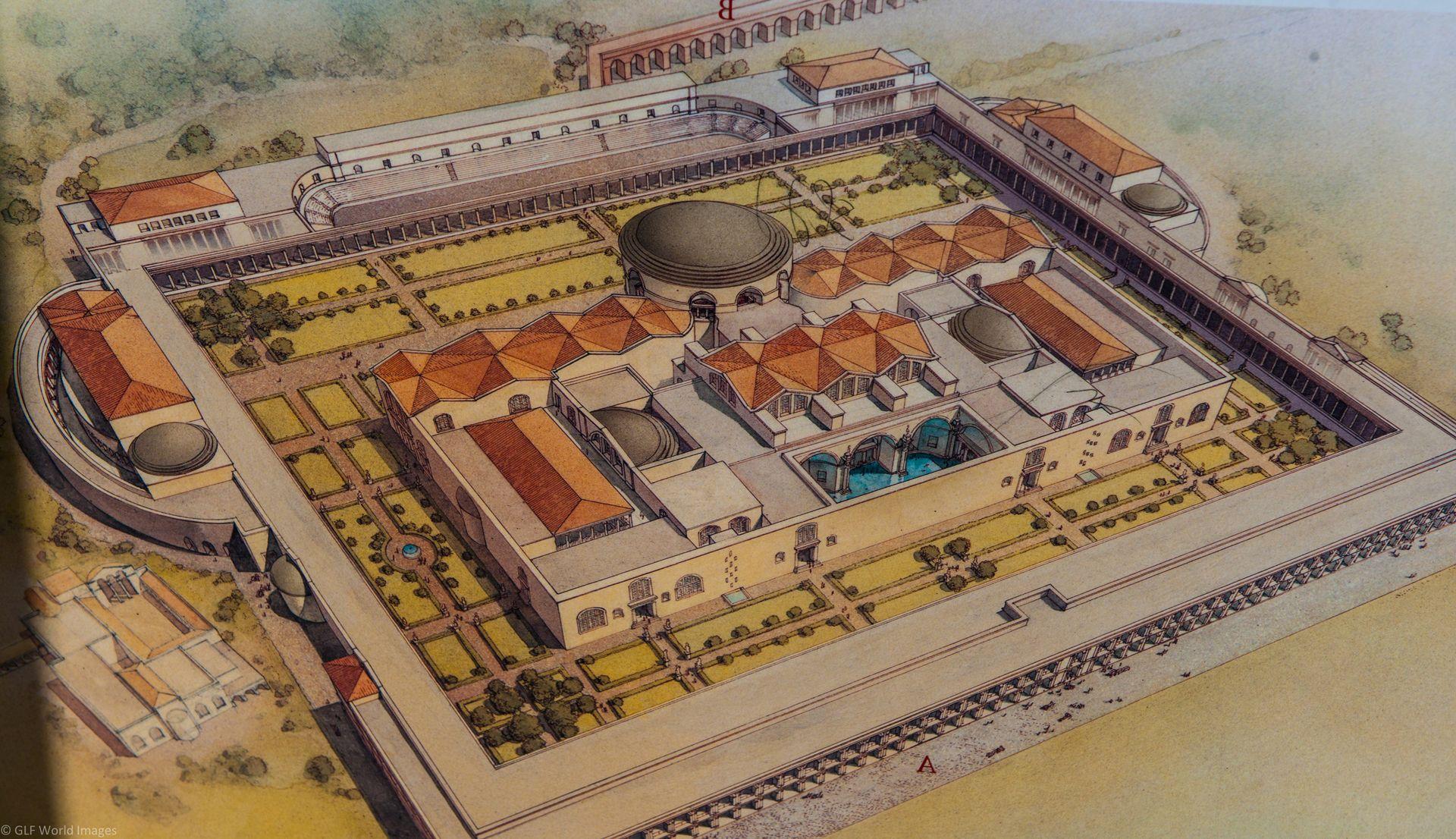 p g 27 termas de caracalla tudo sobre a casa pinterest roman emperor and emperor. Black Bedroom Furniture Sets. Home Design Ideas