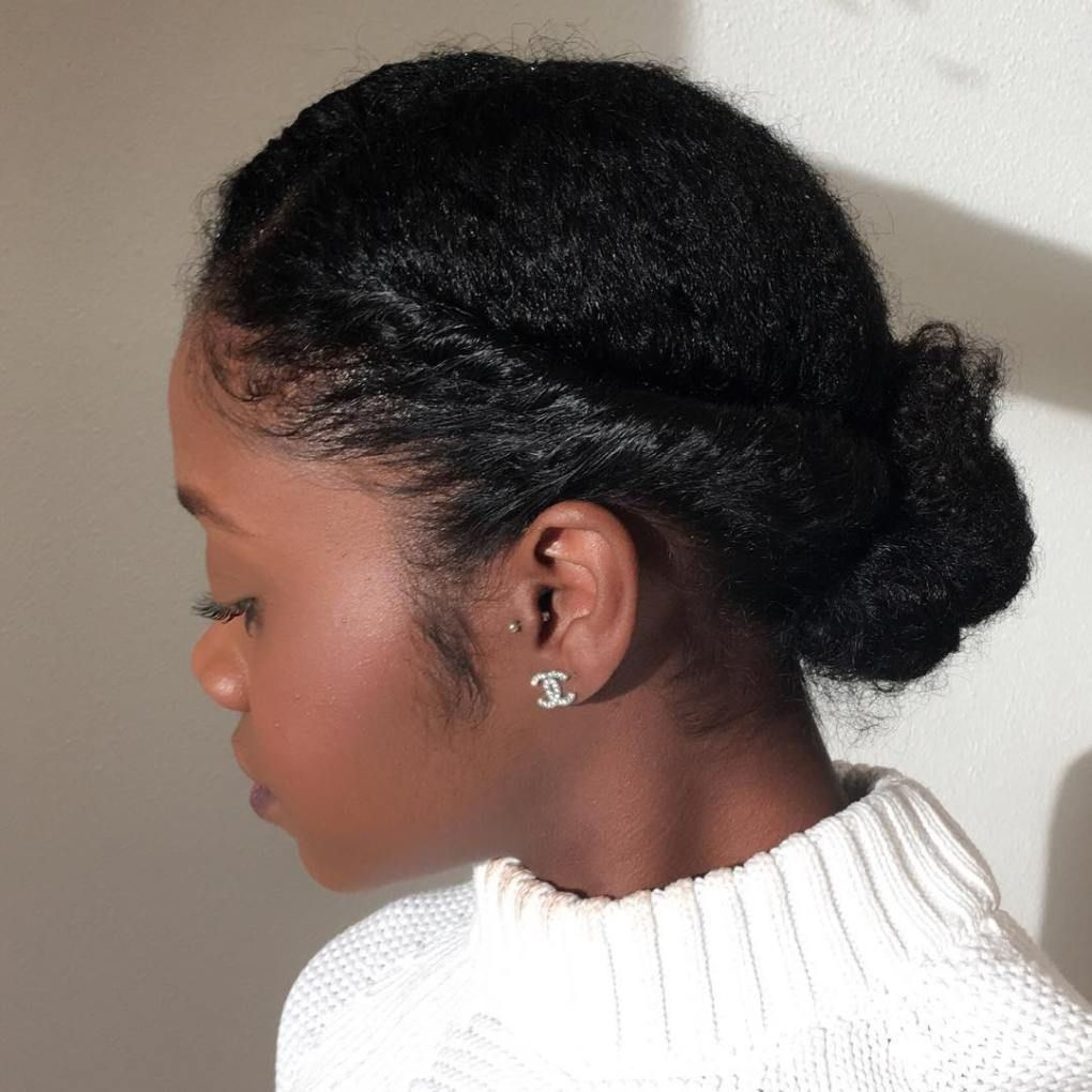 easy and showy protective hairstyles for natural hair updo