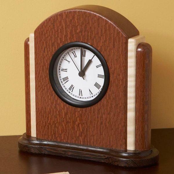 Art Deco Clock Woodworking Plan Gifts Decorations Clocks Clock Woodworking Clock Projects Wall Clock Design