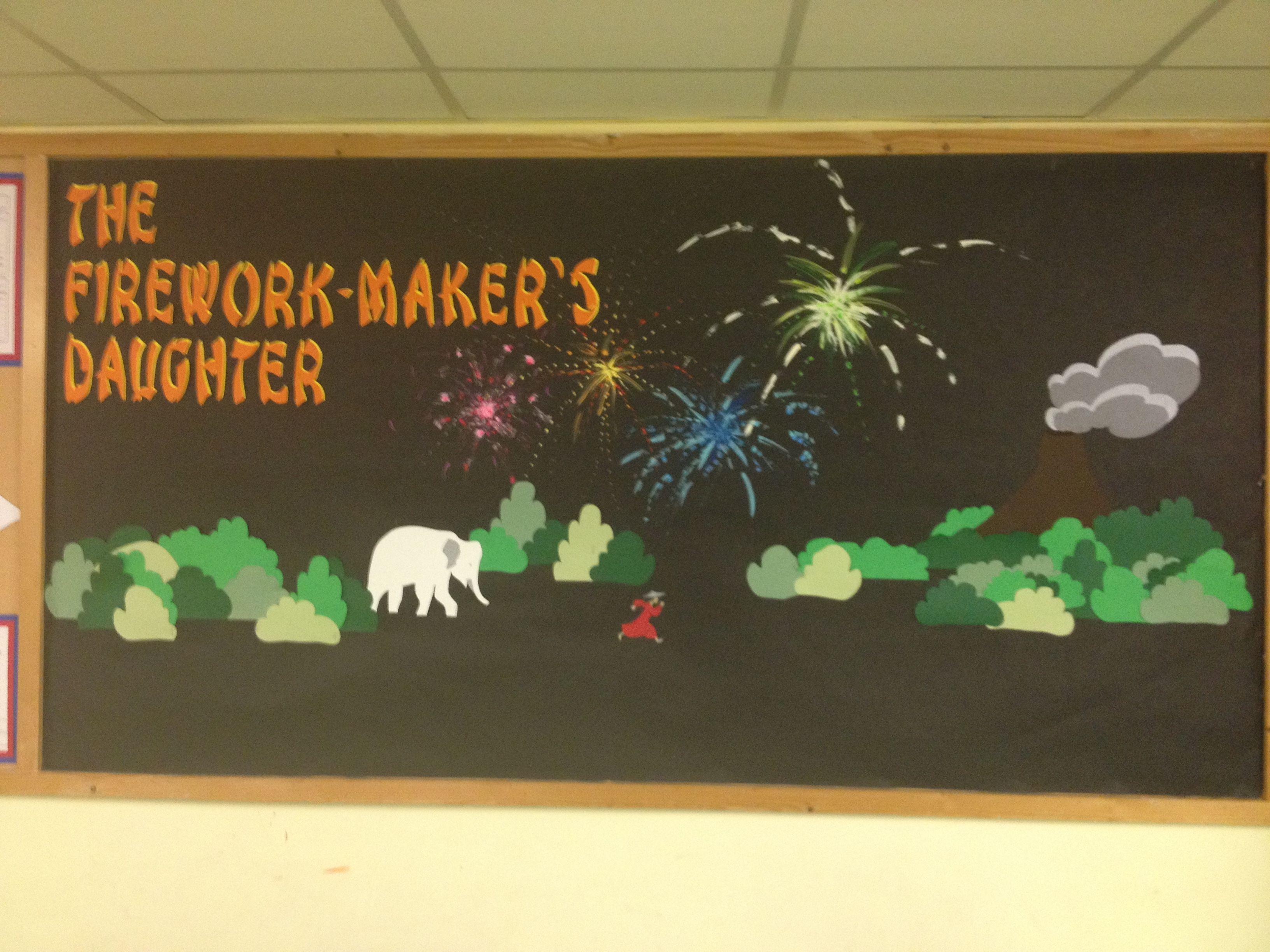 Firework Maker S Daughter Display For Ks2 Classroom