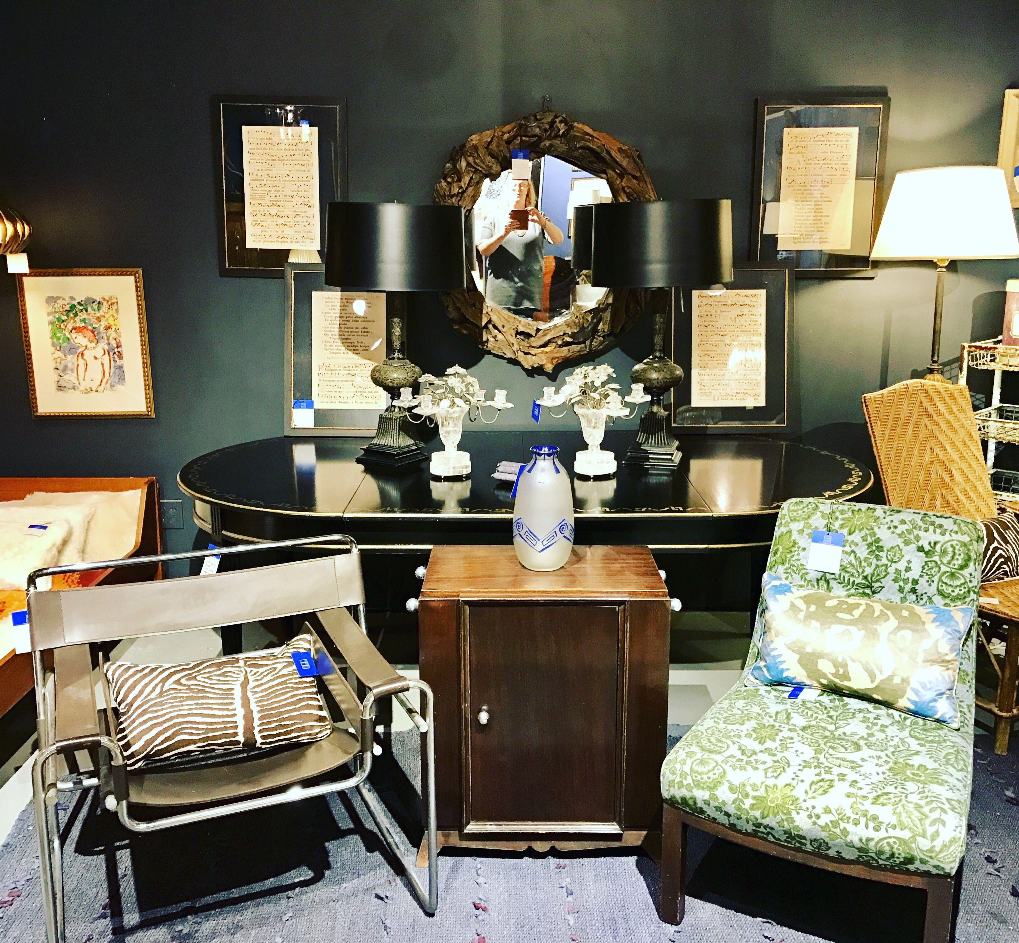 My Booth In Stamford Ct Full Of French Antiques As Well As Mid Century Modern Theantiqueandartisangallery French Interior Home Decor Interior