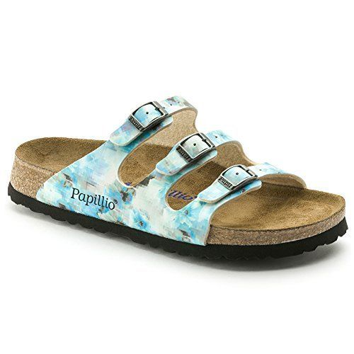 f5873ce1ce3da Birkenstock Womens Florida Pixel Blue BirkoFlor Sandal -- Click image for  more details. (This is an affiliate link)