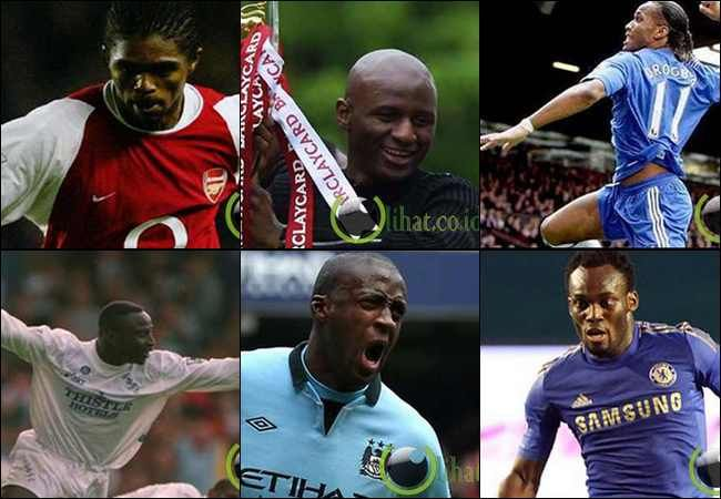 10 Pemain Sepakbola Afrika Terbaik yg Main di Liga Primer Inggris