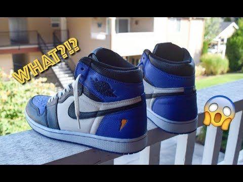 72d75ff09f9 Court Purple Jordan 1 Custom tutorial (Purple Gatorade 1 conversion) -  YouTube