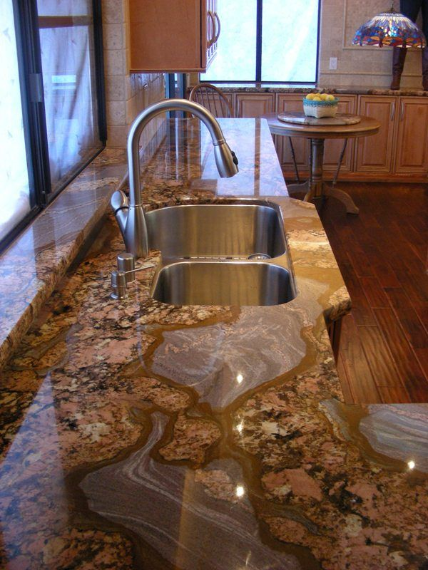 Pin on Custom Kitchen Countertops by Straight Line Imports