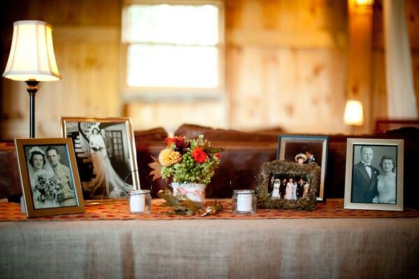 fotos de pais e avos para decorar casamento