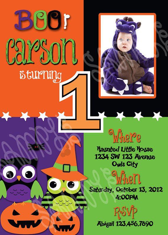 Halloween 1st birthday invitation 1st by artisacreations on etsy halloween 1st birthday invitation 1st by artisacreations on etsy 1200 filmwisefo