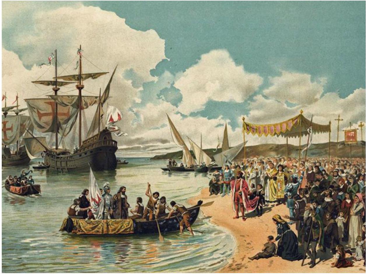 Vasco Da Gama's Arrival in Malindi Portuguese empire